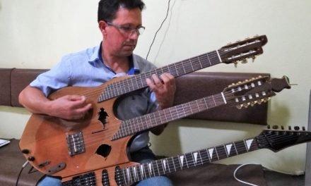 TV GAZETA – Você já ouviu o som da Guitarrucha?