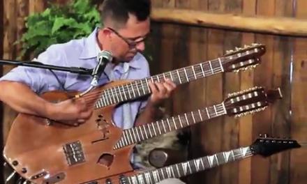 A guitarrucha de Pedrinho Porto no Vida no Sul